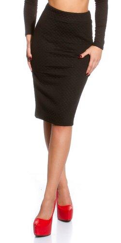 Sexi dámska sukňa Čierna