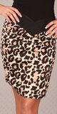 Štýlová dámska sukňa ,,pencil style,, Leopard