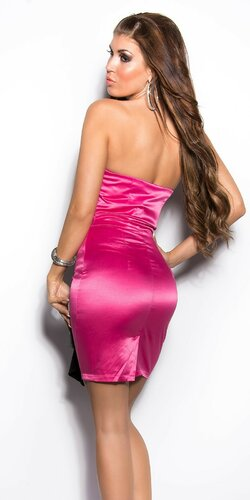 Dámske kokteilové šaty Ružová