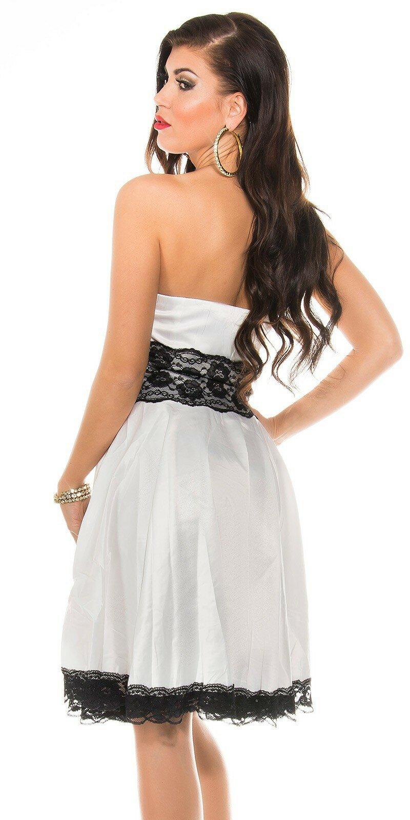 Dámske šaty s čipkou