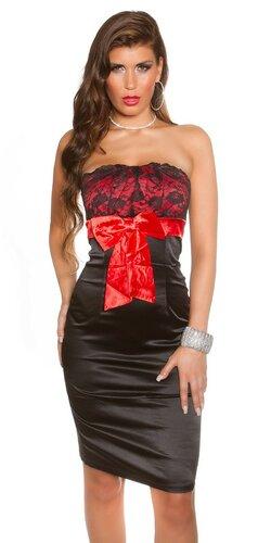 Koktejlové šaty | Červená