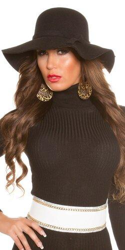 Dámsky štýlový klobúk | Čierna