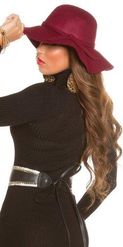 Dámsky štýlový klobúk