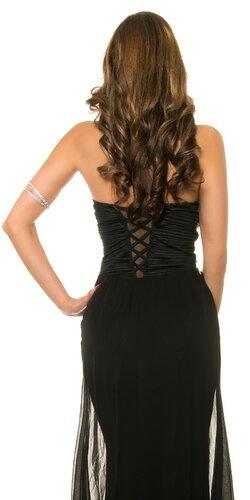 Dámske značkové večerné šaty Čierna