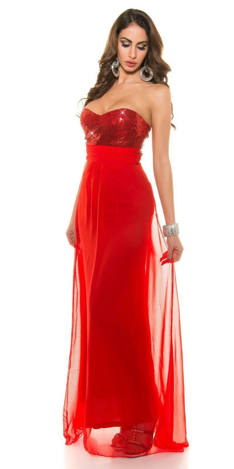 f995367b65e ... Nádherné dámske plesové šaty