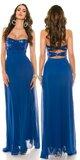 Nádherné dámske plesové šaty ,,Luxury,, Kráľovská modrá