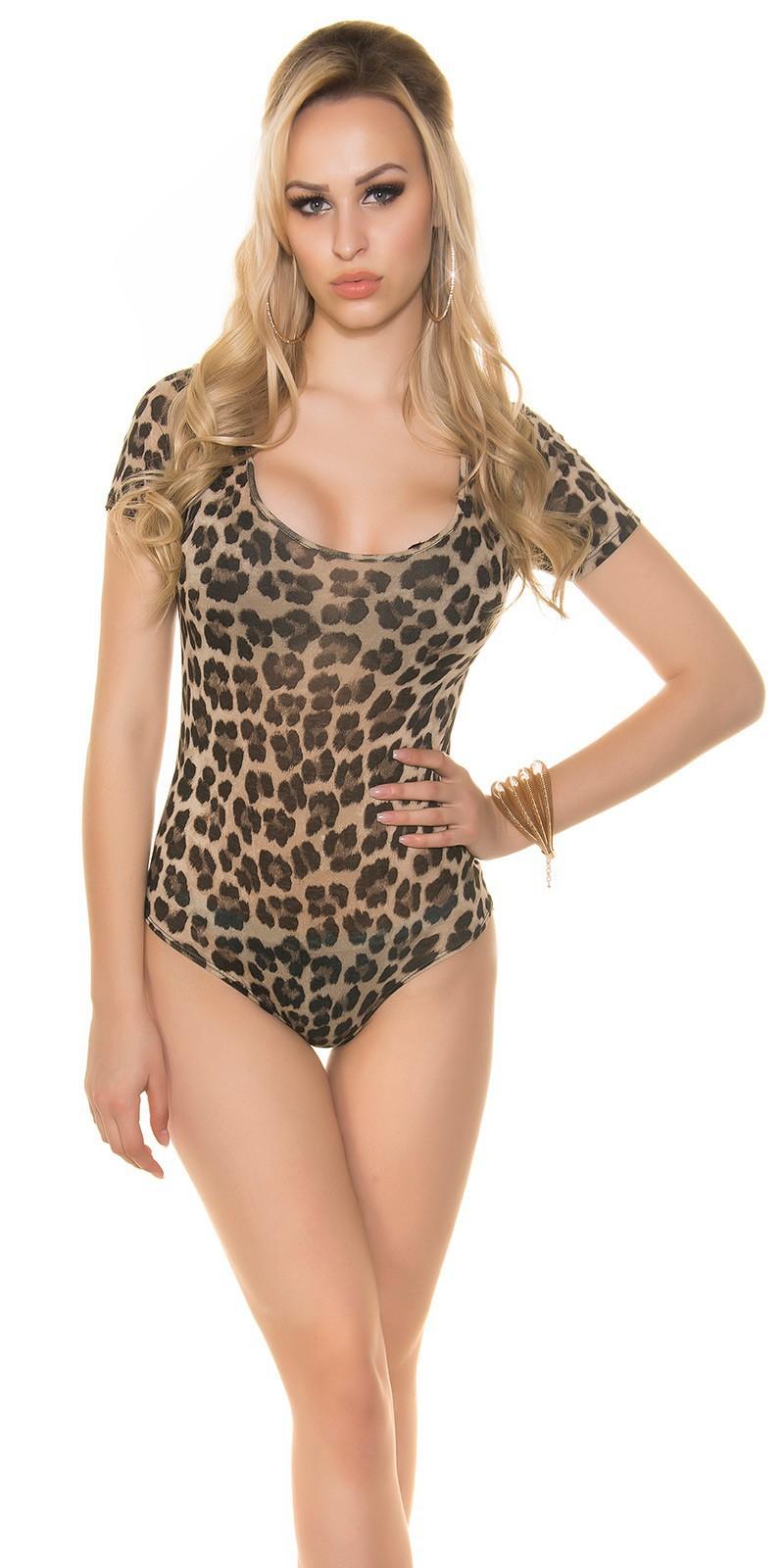 3371f78d3045 Dámske leopardie body - NajlepsiaModa.sk