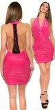 Dámske ,,party,, mini šaty Ružová
