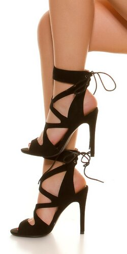 Dámske letné sandálky | Čierna