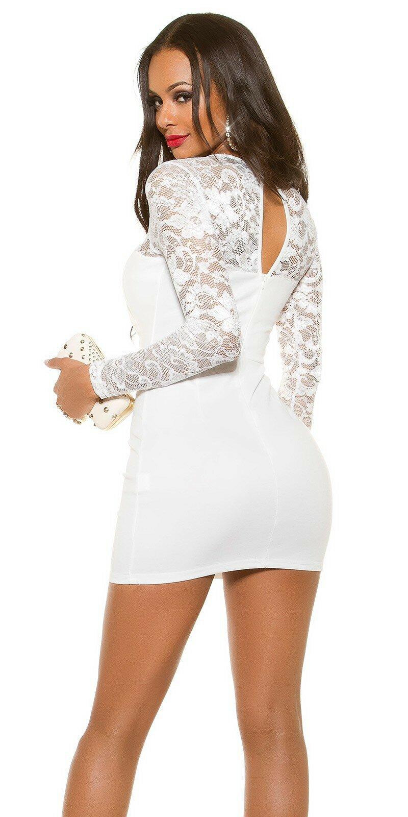 c4a5897b0209 Mini šaty s dlhými rukávmi KouCla - NajlepsiaModa.sk