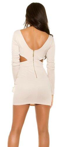 Dámske šaty ,,KylieJ. Look,, Béžová