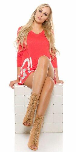 Sexy dámske topánky so šnúrovaním | Karamelová