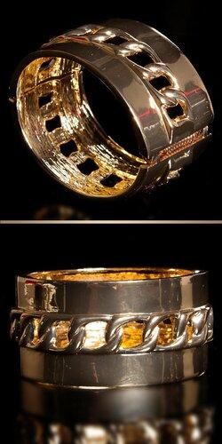 Dámsky štýlový náramok | Zlatá