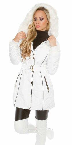 Dámska dlhá zimná bunda