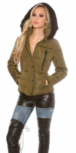 Dámska zimná bunda | Khaki