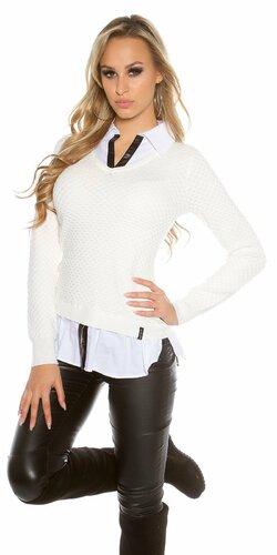 Dámska blúzka/sveter (2v1) KouCla