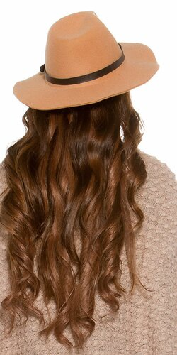 Dámsky klobúk Béžová