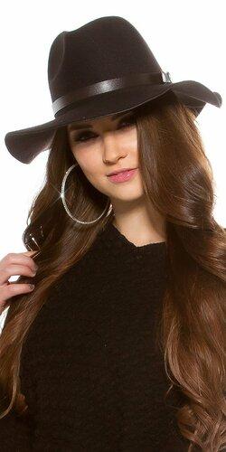 Dámsky klobúk (Čierna)