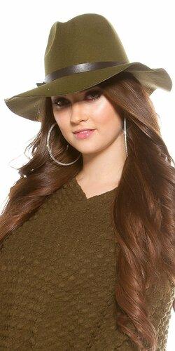 Dámsky klobúk | Khaki