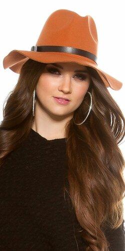 Dámsky klobúk | Oranžová