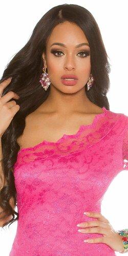 Elegantné dámske náušnice | Ružová