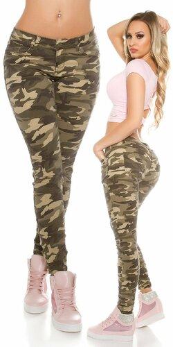 Dámske maskáčové nohavice Camouflage