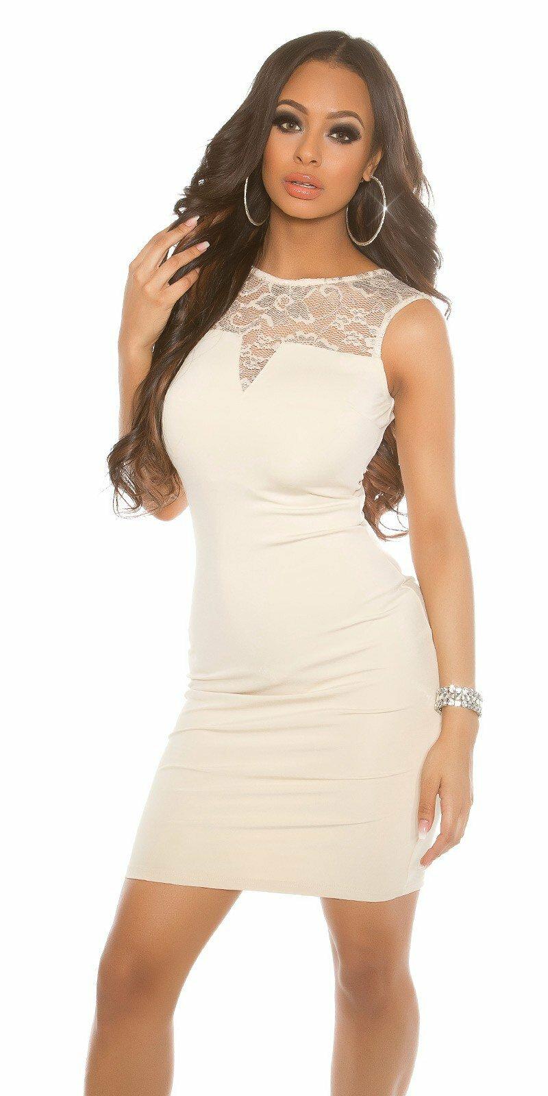 Dámske puzdrové šaty bez rukávov  Veľkosť Univerzálna (XS S M) Farba 49b2240269