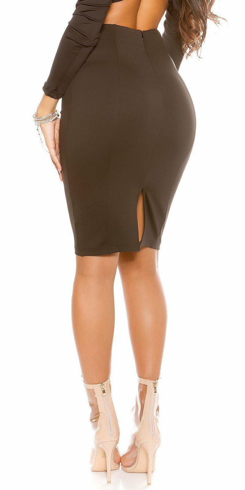 ad1c175ca72a ... Dámska úzka sukňa KouCla Čierna ...