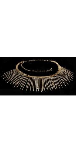 Štýlový náhrdelník Zlatá