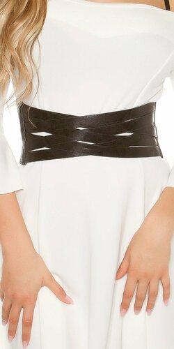 Dámsky pásový opasok | Čierna