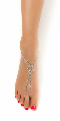 Ozdobná retiazka na nohu