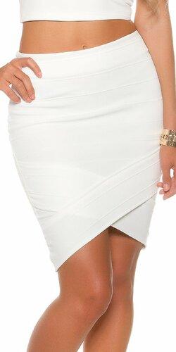 Dámska asymetrická sukňa