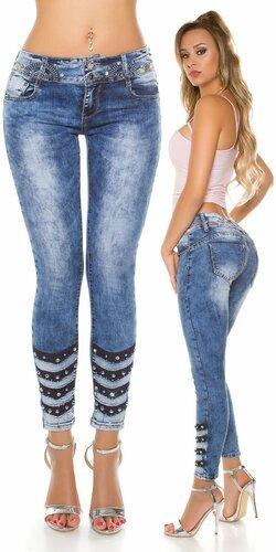 Dámske štýlové džínsy