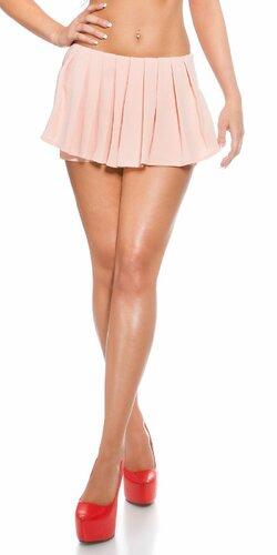 Dámske šortky ,,vzhľad sukne,, | Marhuľová