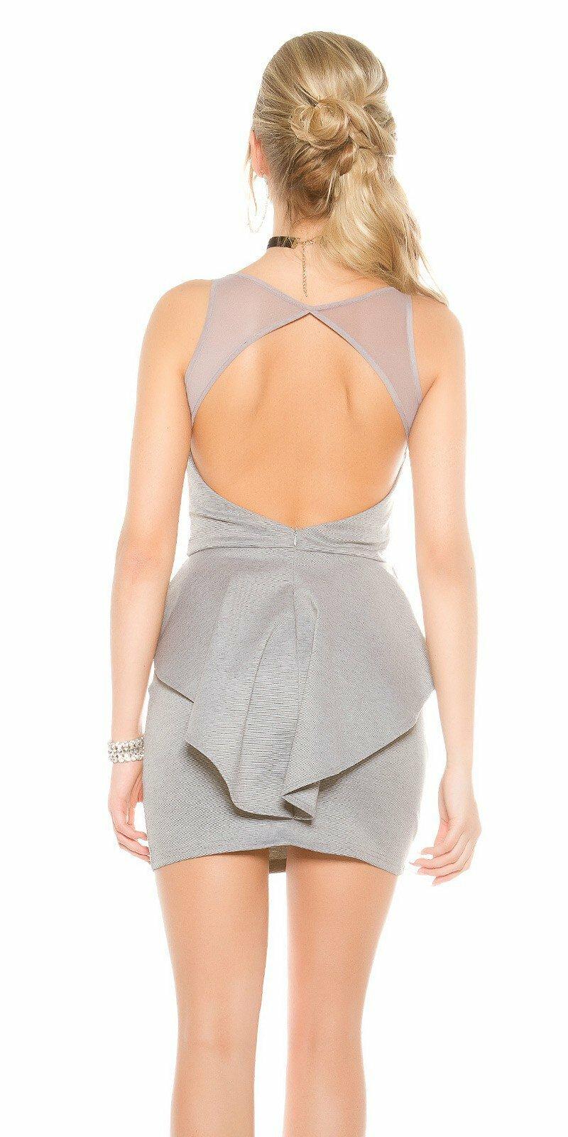 Dámske štýlové mini šaty KouCla