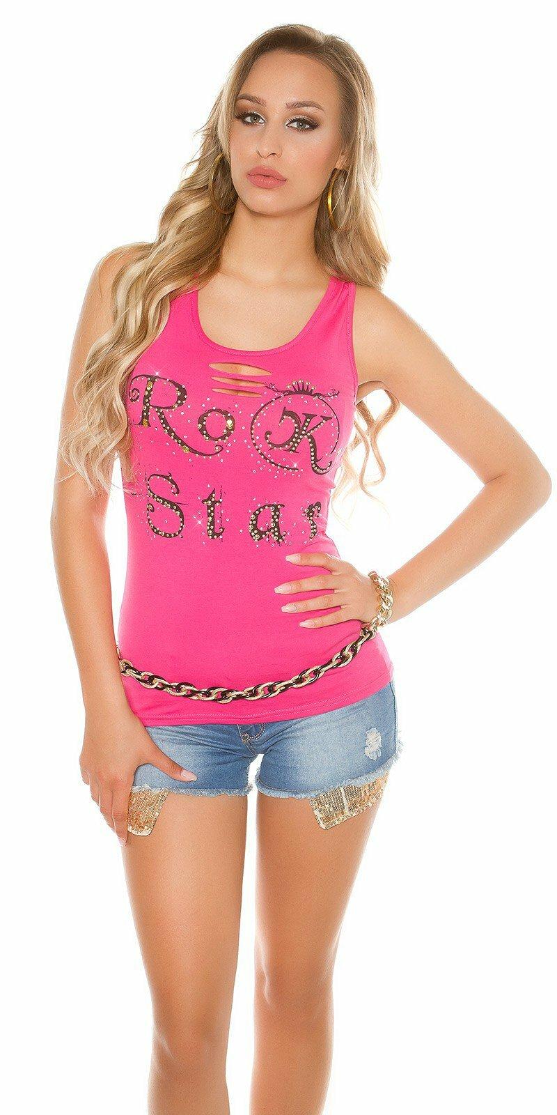 Dámske Tielko ,,RockStar,,