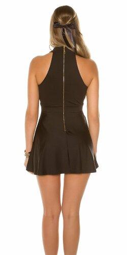Sexy mini šaty Čierna