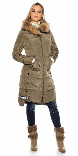 Dlhá zimná bunda (Khaky)