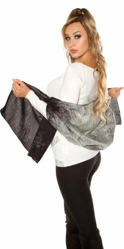 Dámsky rafinovaný šál | Čierna