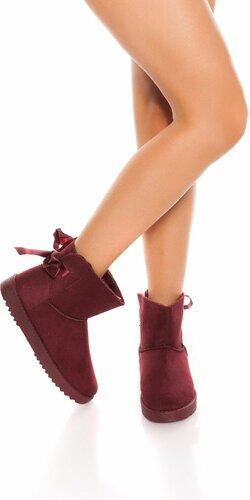 Zimné členkové topánky