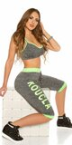 KouCla Workout Outfit Zelená