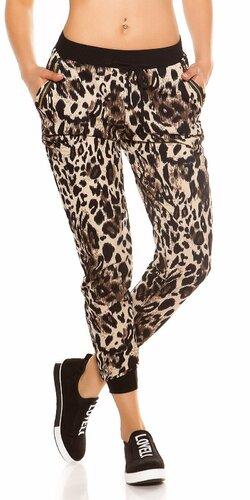 Leopardie tepláky