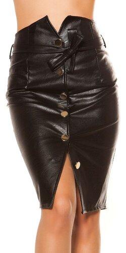 Pencil sukňa Čierna