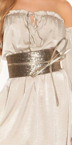 Štýlový pásový opasok | Zlatá
