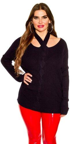 KouCla moletkovský sveter | Tmavomodrá