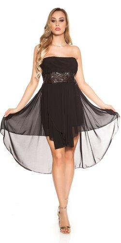 Šaty s vlečkou | Čierna