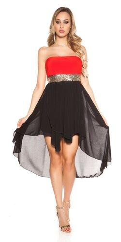 Šaty s vlečkou | Červená