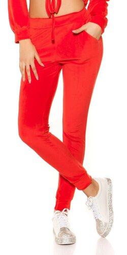 Nicki tepláky | Červená