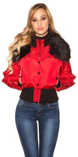 Zimná bunda | Červená
