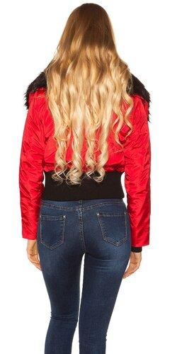 Zimná bunda Červená